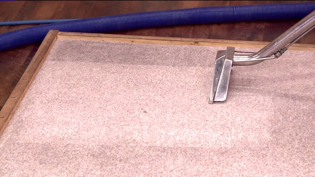 Clean your carpets without chemicals